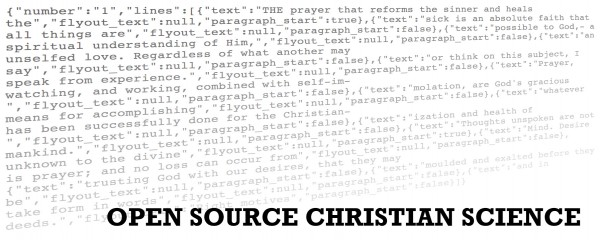 Open Source Christian Science