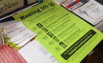 Healing 101 flyer