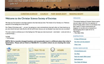 Christian Science Society of Encinitas in Encinitas CA