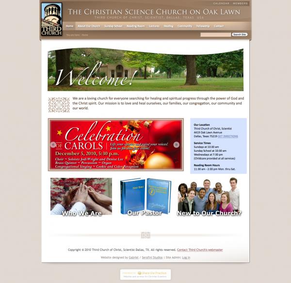 Third Church of Christ, Scientist Dallas, TX