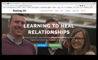 Healing 101 website