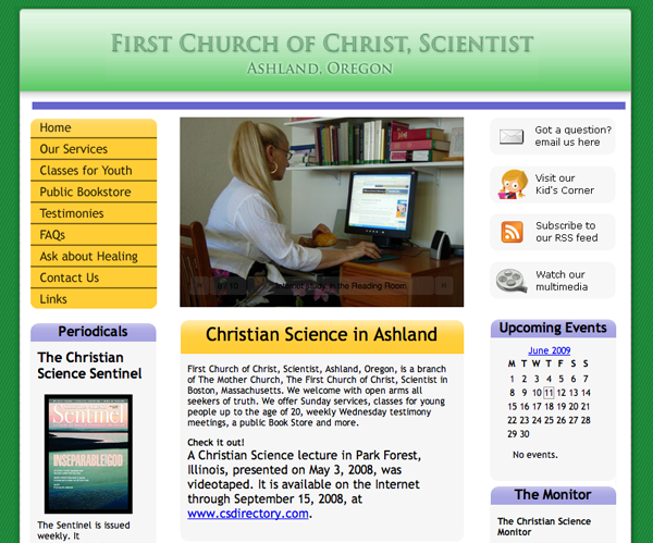 First Church of Christ, Scientist, Ashland, Oregon