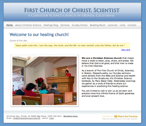 First Church of Christ, Scientist Orinda, California