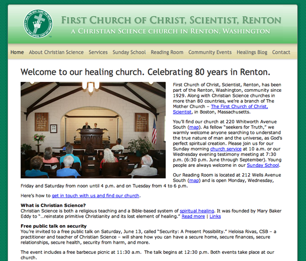 First Church of Christ, Scientist, Renton, Washington
